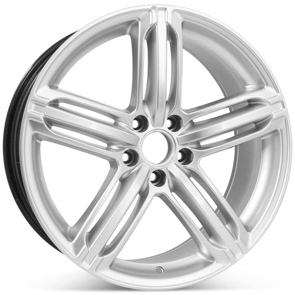 """19"""" Alloy Replacement Wheel for Audi A4 S4 2009 2010 2011 2012 2013 2014 2015 2016 Rim 58840 Open Box"""