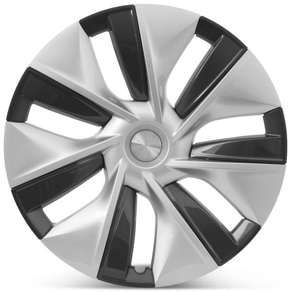 "OE Genuine Tesla Model 3 19"" Gemini Hubcap Wheel Cover Performance Package 2019 2020 1044235A"