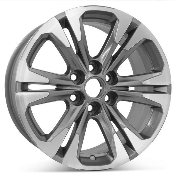 "17"" x 8"" Chevrolet Colorado 2021 Factory OEM Wheel Rim 96989"
