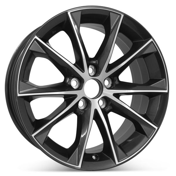 """New 18"""" x 7.5"""" Replacement Wheel for Toyota Camry 2015 2016 2017 Rim 75172"""