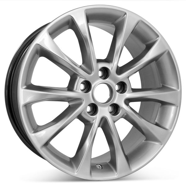 """New 17"""" x 7.5"""" Replacement Wheel for Ford Fusion 2017 2018 Rim 10119"""