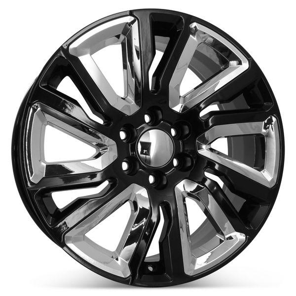 "New 22"" x 9"" Replacement Wheel for Chevrolet Silverado GMC Sierra 2019 2020 2021 Rim 5901"
