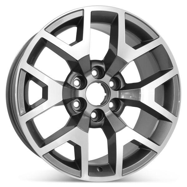 "New 20"" x 9"" Replacement  Wheel for Chevrolet Silverado GMC Sierra 2014-2019 Rim 5658"