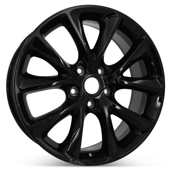 "New 20"" x 8"" Replacement Wheel for Dodge Durango 2014 2015 2016 2017 2018 Rim 2496"