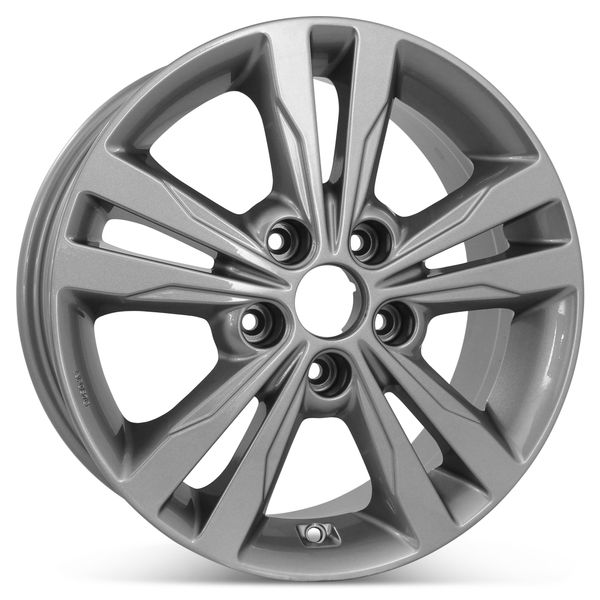 "New 16"" x 6.5"" Alloy Replacement Wheel for Hyundai Elantra 2016 2017 2018 Rim 70902"