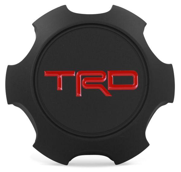 OE Genuine Toyota TRD Black Star Center Cap 2003 - 2021 CAP7511
