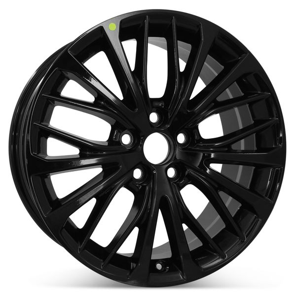 """New 18"""" x 8"""" Replacement Wheel for Toyota Camry 2018 2019 2020 2021 Rim 75221 Black"""