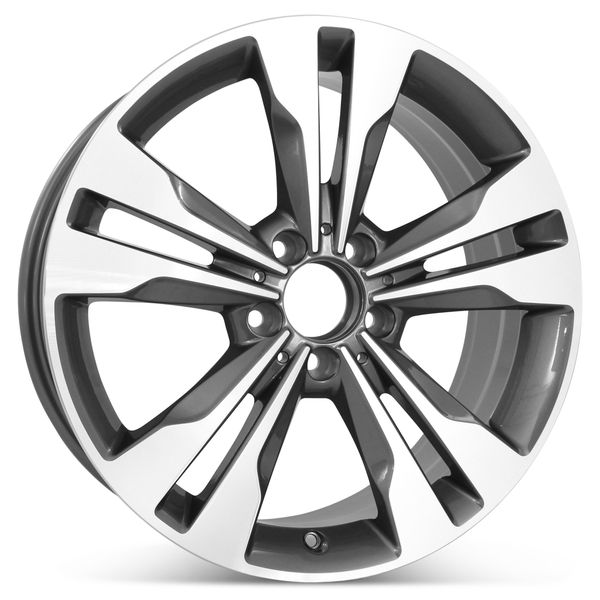 """New 18"""" x 7.5"""" Replacement Wheel for Mercedes C-Class 2014 2015 2016 2017 2018 2019 Rim 85529"""