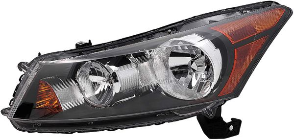 New Replacement Headlight for Honda Accord Driver Side 2008 2009 2010 2011 2012 HO2502130