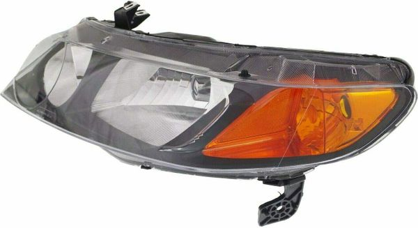 New Replacement Headlight for Honda Civic Driver Side 2006 2007 2008 HO2502125