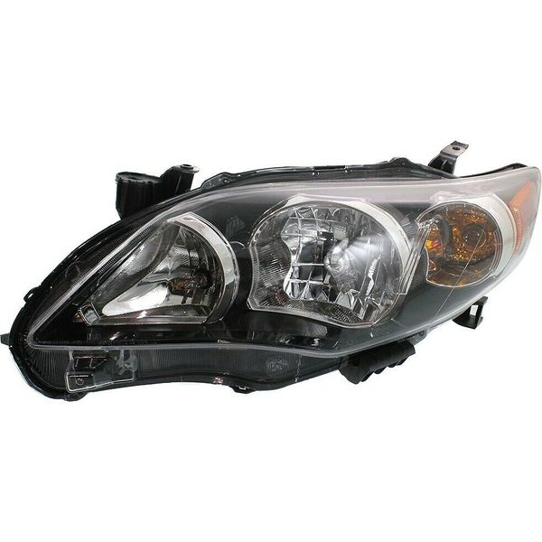 New Replacement Headlight for Toyota Corolla Driver Side 2011 2012 2013 TO2502204