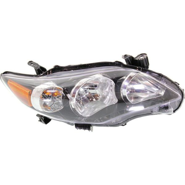 New Replacement Headlight for Toyota Corolla Passenger Side 2011 2012 2013 TO2503204