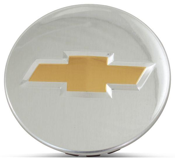 OE Genuine Chevrolet Center Cap Chrome  W/ Gold Logo CAP5479