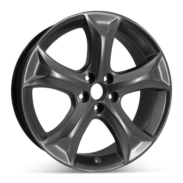 "Open Box 20"" x 7.5"" Alloy Replacement Wheel for Toyota Venza 2009-2015 Hyper Silver Rim 69558"