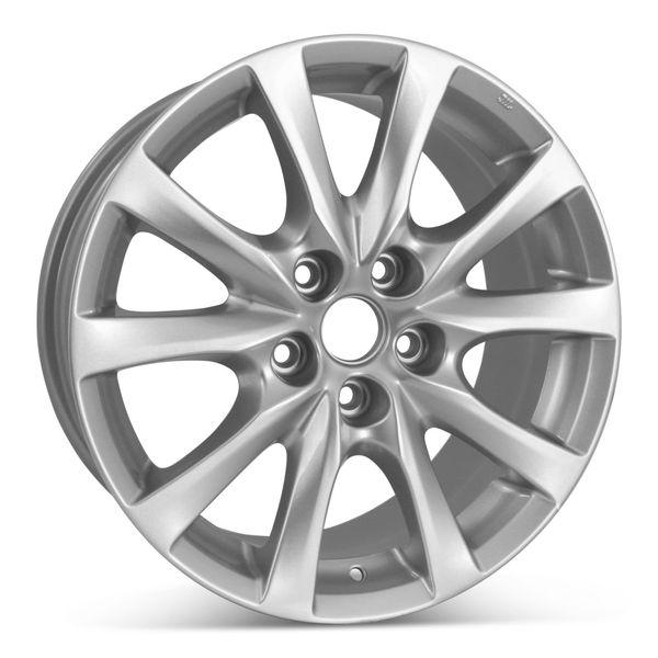 "17"" Alloy Replacement Wheel for Mazda 6 2012 2013 2014 2015 2016 2017 Rim 64957 Open Box"