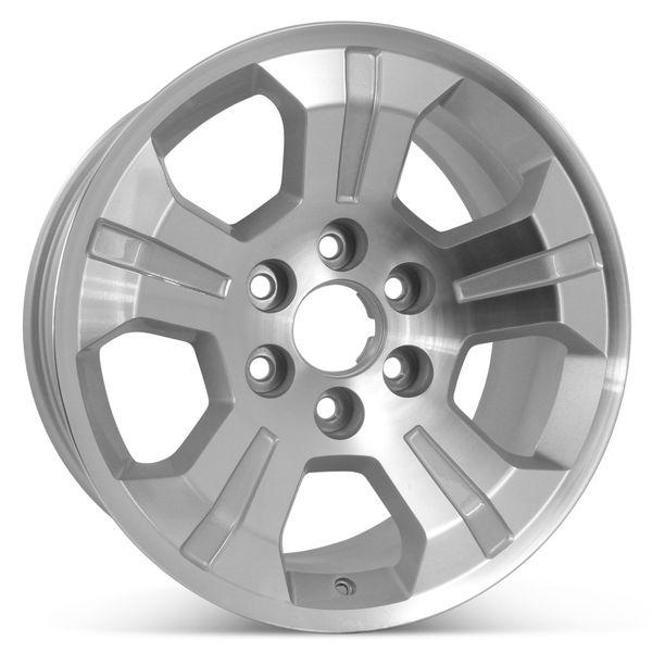 "Open Box 18"" x 8.5"" Replacement Wheel for Chevrolet Silverado Tahoe Suburban GMC Sierra 2014-2020 Rim 5647"