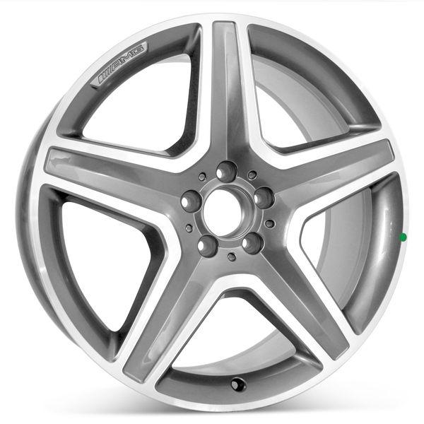 "Open Box AMG 20"" x 9"" Mercedes GLE350 GLE400 GLE550 Factory OEM Wheel Rim 85551"