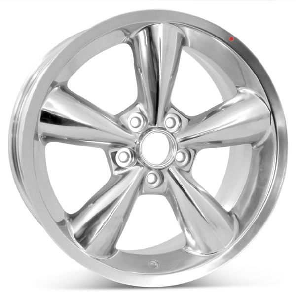 """Open Box 18"""" x 8.5"""" Replacement Wheel for 2006-2009 Ford Mustang Rims 3648 Polished"""