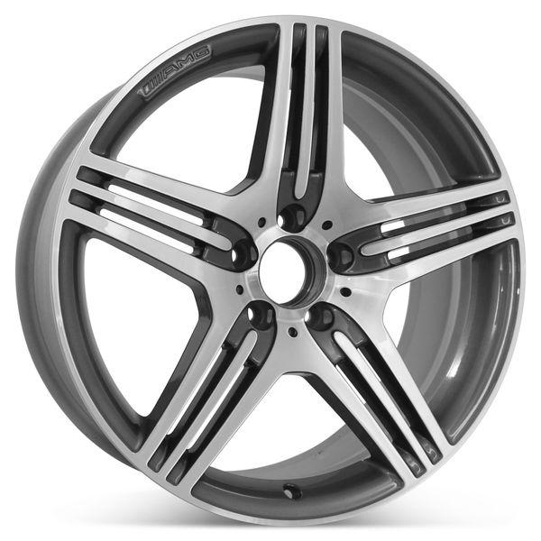 "19"" x 8.5"" Mercedes SL Class 2009 2010 2011 2012 AMG  Factory OEM Wheel Rim 85082"