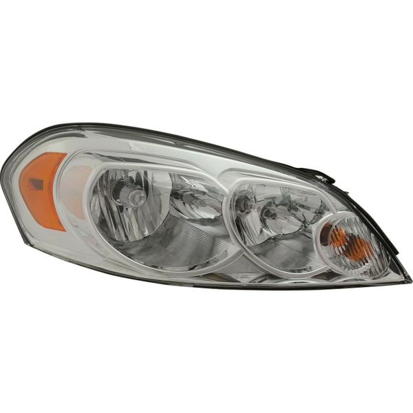 New Replacement Headlight for Chevrolet Impala Passenger Side 2006 - 2016 GM2503261