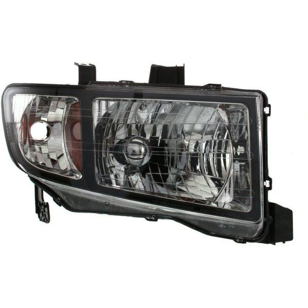 New Replacement Headlight for Honda Ridgeline Passenger Side 2006 2007 2008 HO2503128