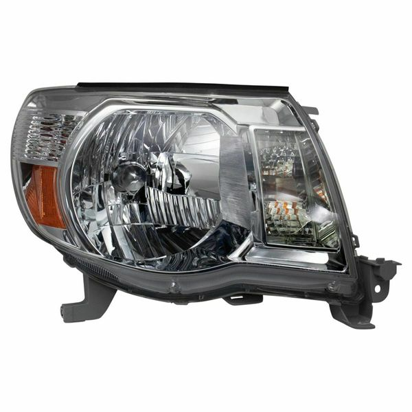 New Replacement Headlight for Toyota Tacoma Passenger Side 2005 2006 2007 2008 2009 2010 2011 TO2503157