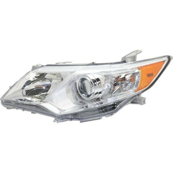 New Replacement Headlight for Toyota Camry Driver Side 2012 2013 2014 TO2502211