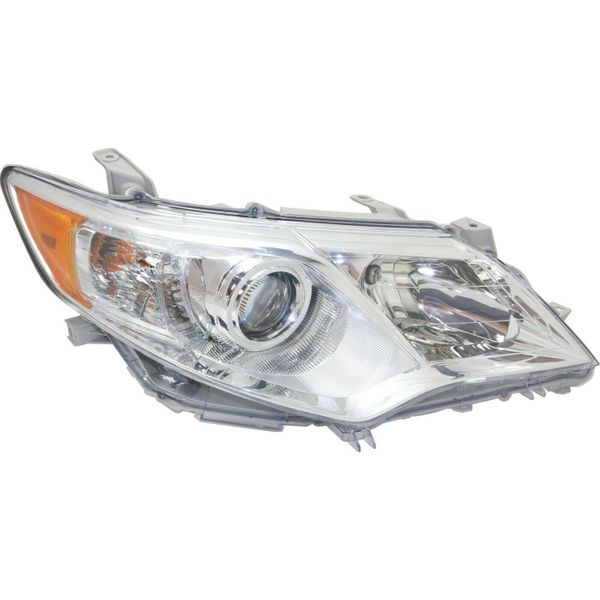 New Replacement Headlight for Toyota Camry Passenger Side 2012 2013 2014 TO2503211