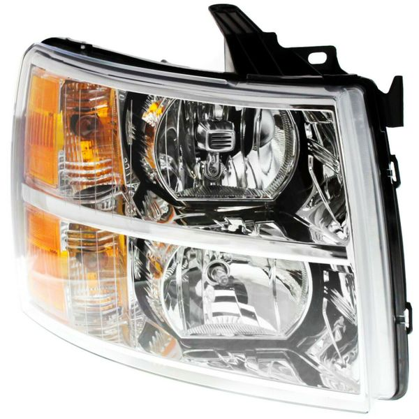 New Replacement Headlight for Chevrolet Silverado Passenger Side 2007–2014 GM2503280