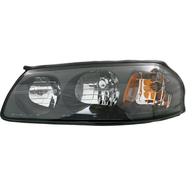 New Replacement Headlight for Chevrolet Impala Driver Side 2000 2001 2002 2003 2004 GM2502201