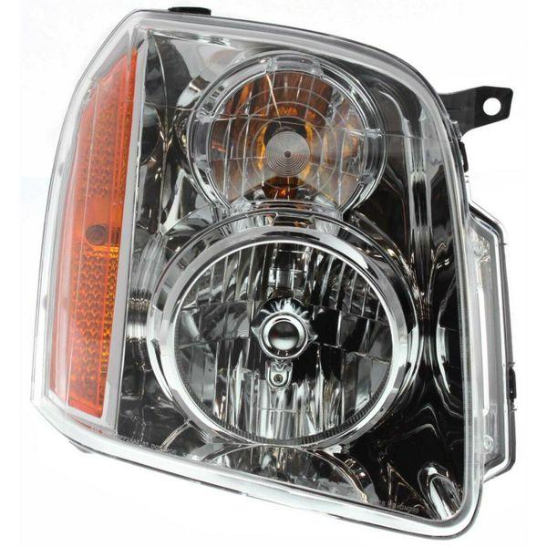 New Replacement Headlight for GMC Yukon Passenger Side 2007 2008 2009 2010 2011 2012 2013 GM2503265
