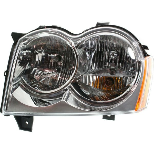 New Replacement Headlight for Jeep Grand Cherokee Driver Side 2005–2007 CH2502160