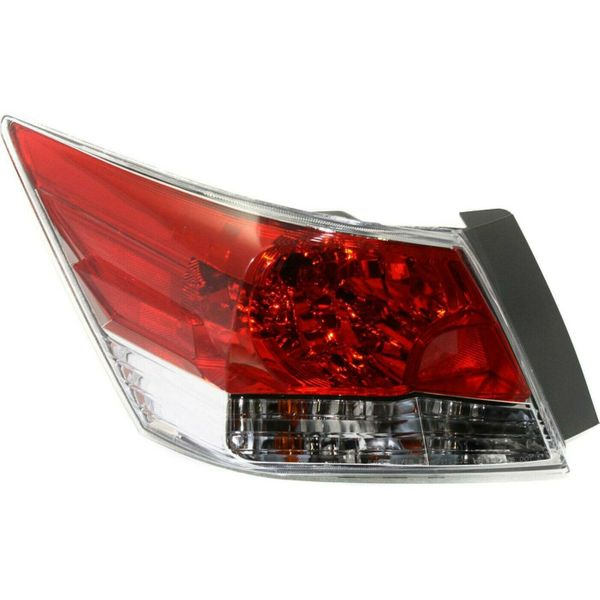 New Replacement Tail Light for Honda Accord Driver Side 2008 2009 2010 2011 2012 HO2800172