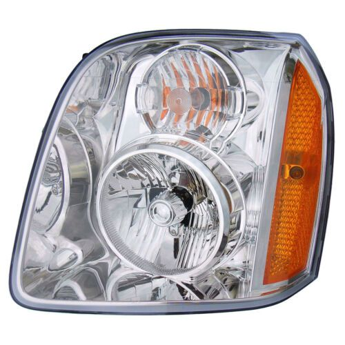 New Replacement Headlight for GMC Yukon Driver Side 2007 2008 2009 2010 2011 2012 2013 GM2502265
